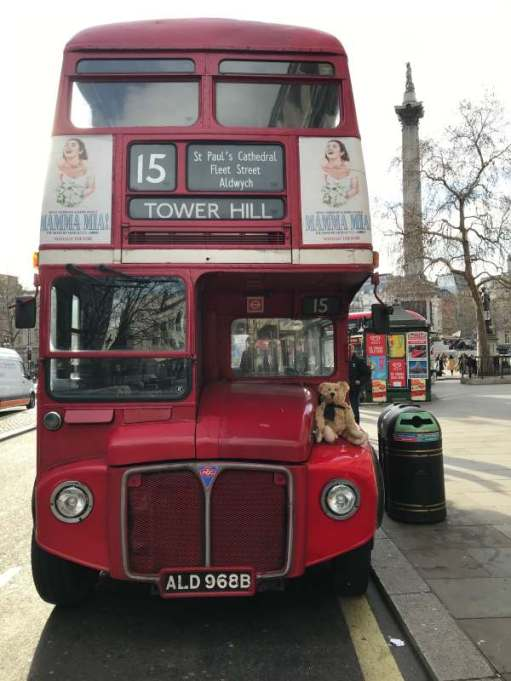 Routemaster: Waiting for the next service.