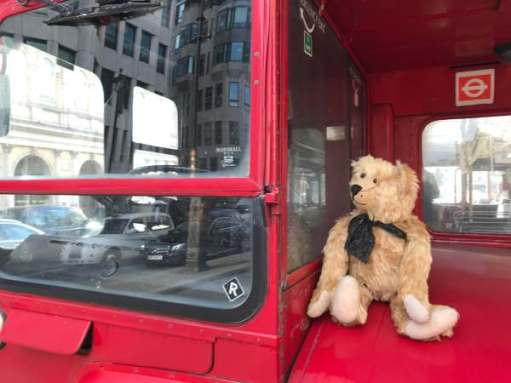 Routemaster: Where's the driver? In the back. Having a kip!