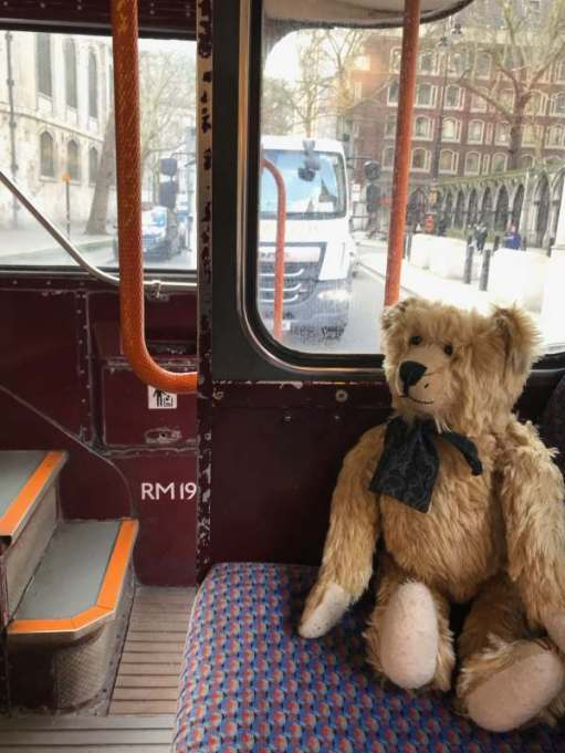 Routemaster: Here we go, here we go, here we go. Law Courts.