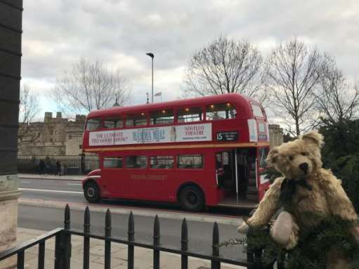 Routemaster: Tower of London.