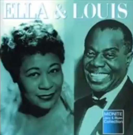 April in Paris: Ella Fitzgerald & Louis Armstrong.