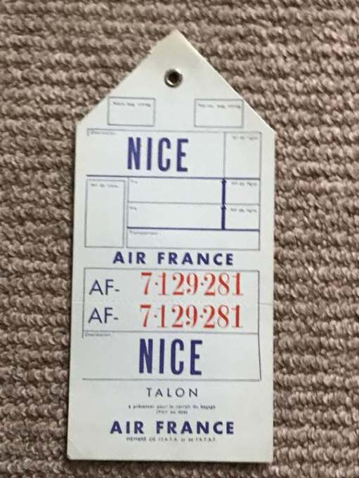 Tie on Baggage Labels: