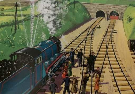 Gordon broken down by Henry's Tunnel.