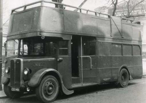 Tree-cutter bus.