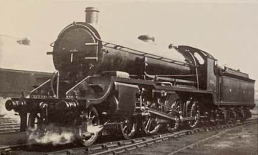 A newspaper print of 30506 when brand new in 1920.
