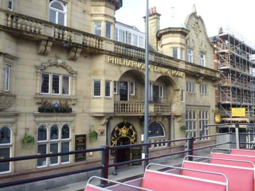 "The ""Phil"" (Philharmonic Dining Rooms). Liverpool's most famous Victorian pub."