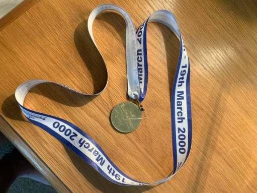 Swimathon Medal, 13-19 March 2000.