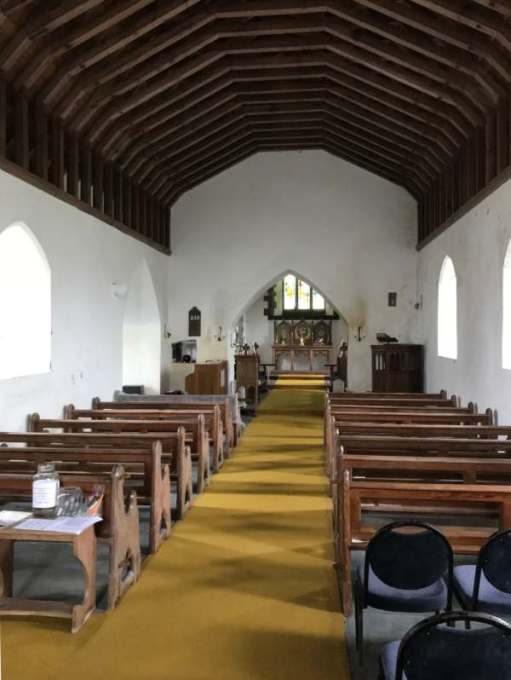 Interior of St David's Church, Whitchurch