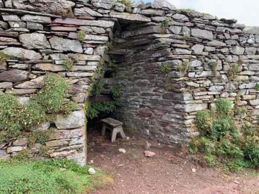 The Lime Kiln on Skokholm Island.