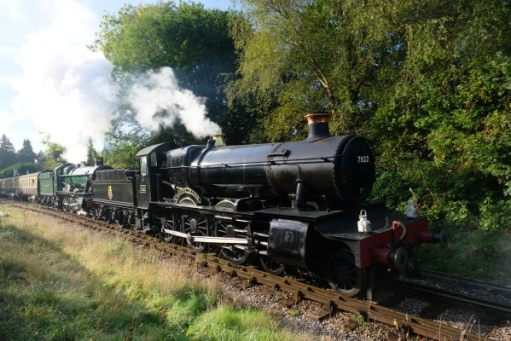 West Somerset Railway 7822 Foxcote Manor.