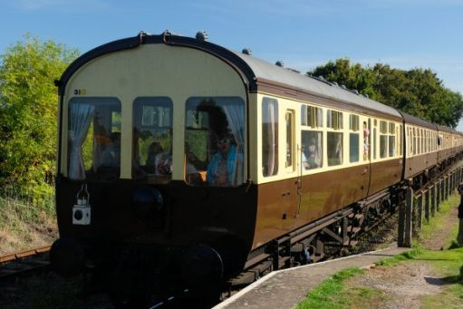 West Somerset Railway - The Observeration Car.