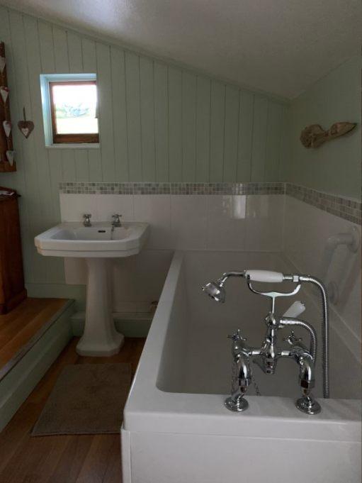 Bobby's bathroom.