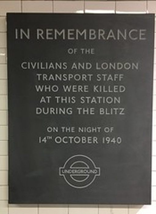 The memorial plaque unveiled on 16 October 2016.