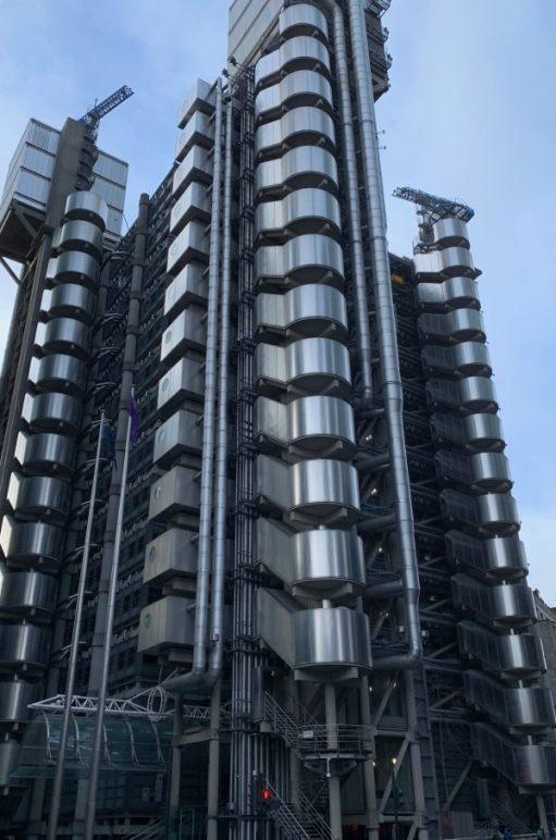 The Lloyds building, Aldgate.