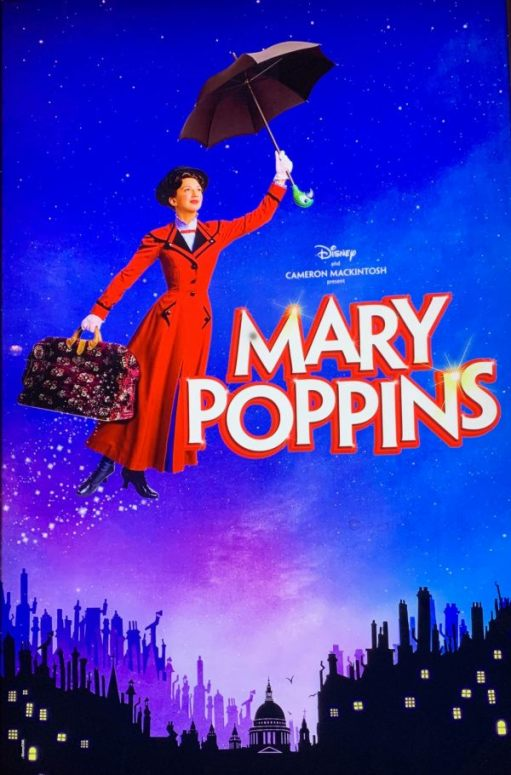 Poster for Mary Poppins.