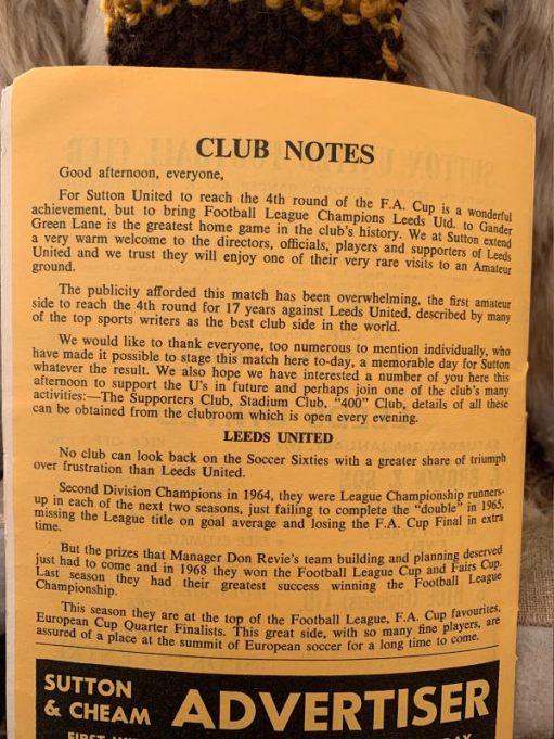 Club notes.