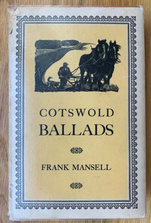 "Cover of ""Cotswold Ballads"" by Frank Mansell."