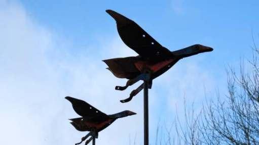 Iron Artwork, Slimbridge.