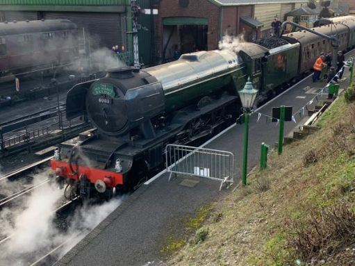 Flying Scotsman at Ropley.