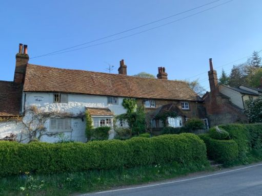 White Cottages, Coldharbour. 1640.