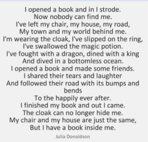 Poem by Julia Donaldson