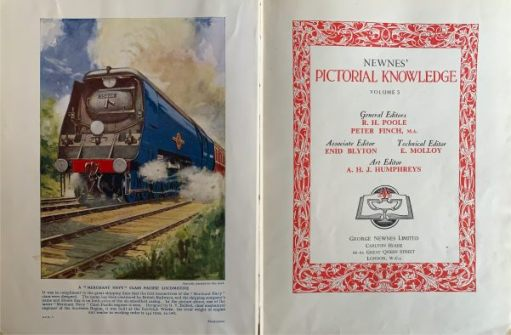 Volume 5 was my favourite. Transport and engineering. Note Enid Blyton was Associate Editor.