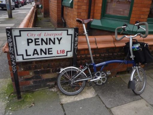 Penny Lane roadsign, Liverpool.