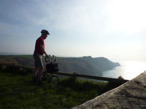 March 2011. North Pembrokeshire. Pwll Derri. Looking west towards St David's.