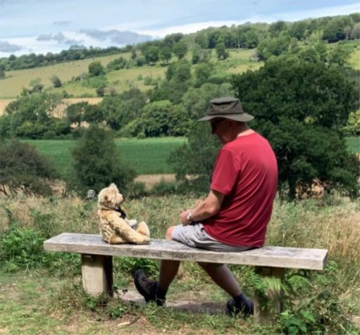 Bertie and Bobby sat pensively on Diddley's Bench facing each other.