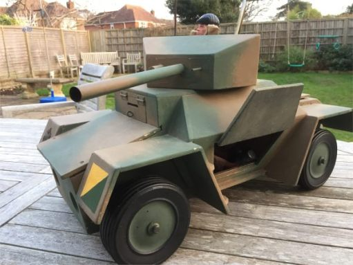 The Action Man Armoured Car.