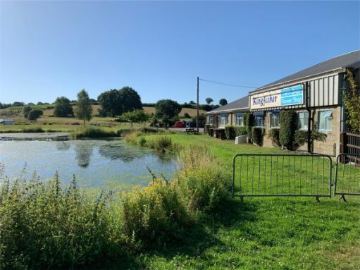 And finally. Here we are at the Kingfisher Farm Shop and Watercress Farm.
