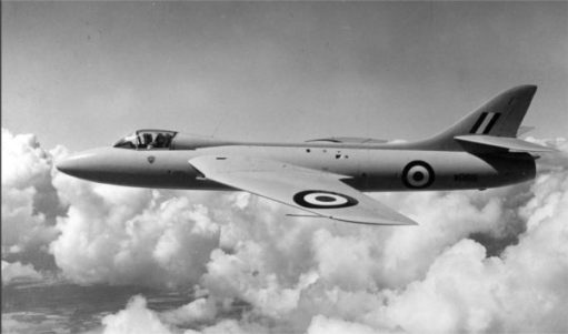 Hawker Hunter.