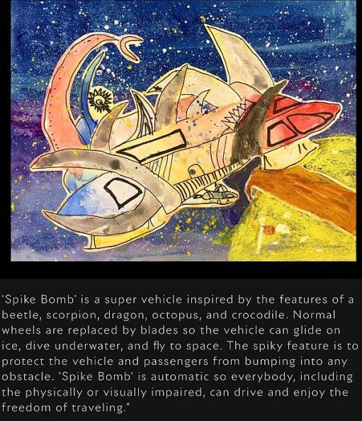 """Spike Bomb"""