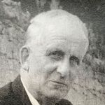 Black and white headshot of sid (Bobby's Dad).