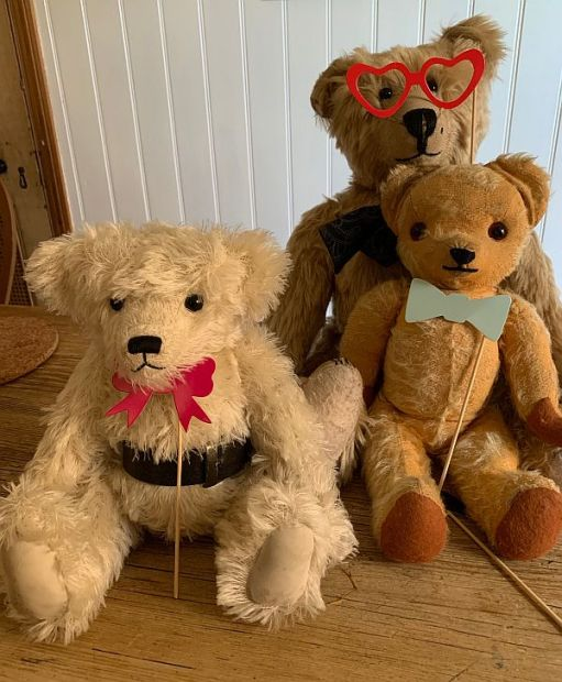 The Bears: Trevor, Eamonn and Bertie.