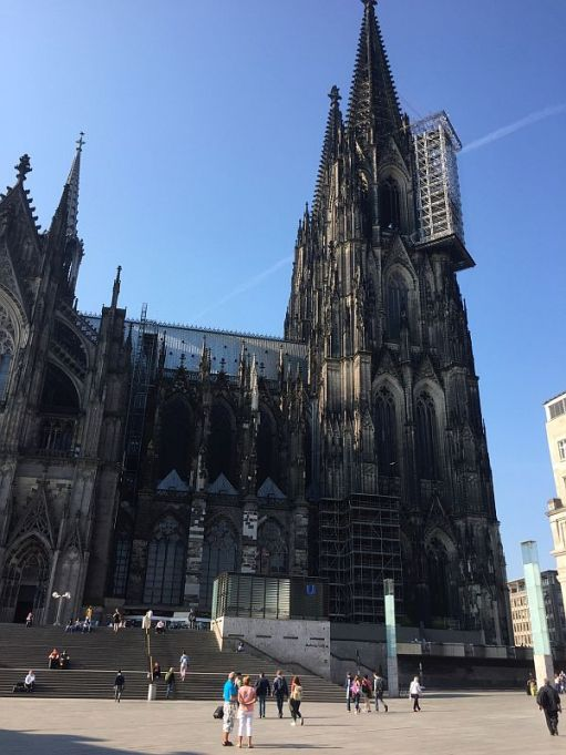 Cologne's magnificent cathedral.