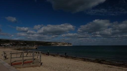 Swanage Beach.