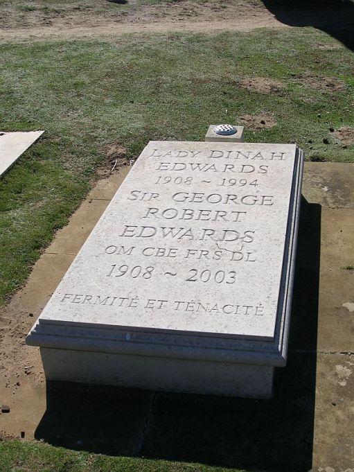 St George Edwards' grave.