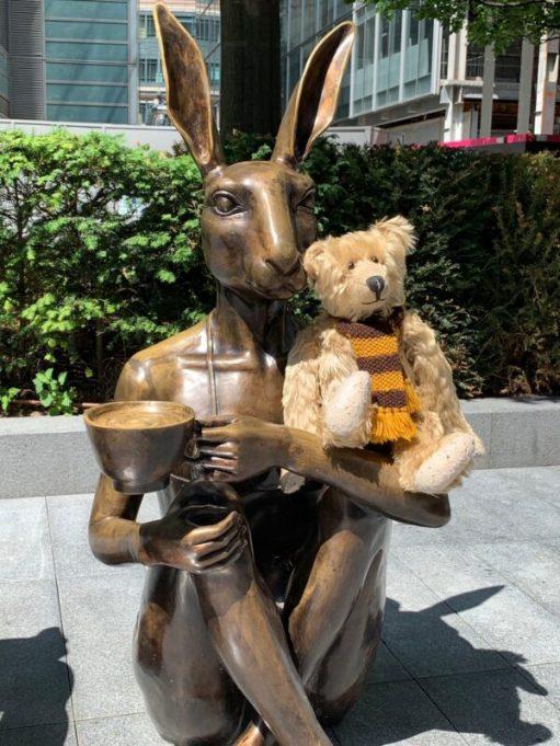 Bertie and Mrs Hare.
