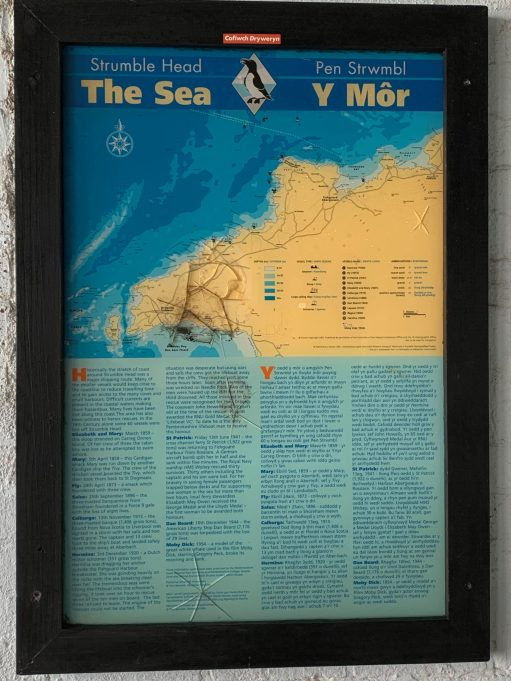 "Strumble Head ""The Sea"" poster."