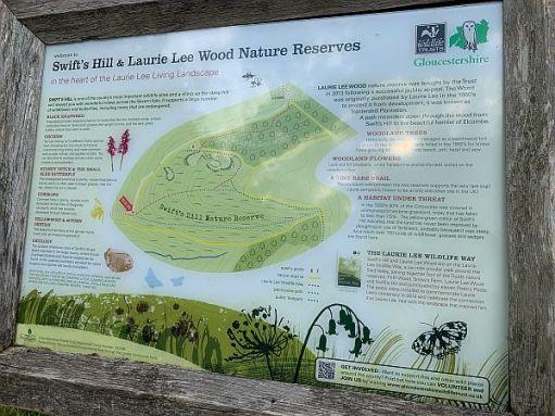 Swift's Hill information. Gloucestershire Wildlife Trust.