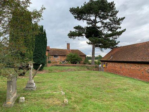 Church Farm House from the graveyard.