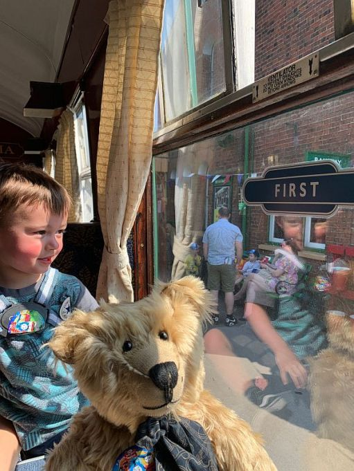 Days out with Thomas. Great grandson Little Jay. 2019.