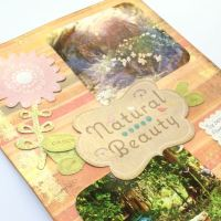 Natural Beauty | Mindful Scrapbooking