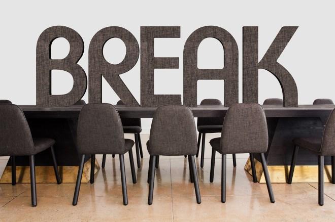 Break room photo
