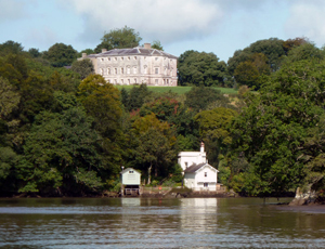 Sharpham House and Boat House | Location for the U.K. Mindfulness Teacher Training
