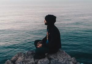 men mindfulness, pain, back pain, meditation