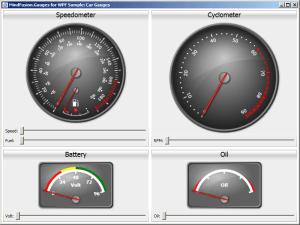 WPF Controls Suite  Gauges | MindFusion UI WPF Controls