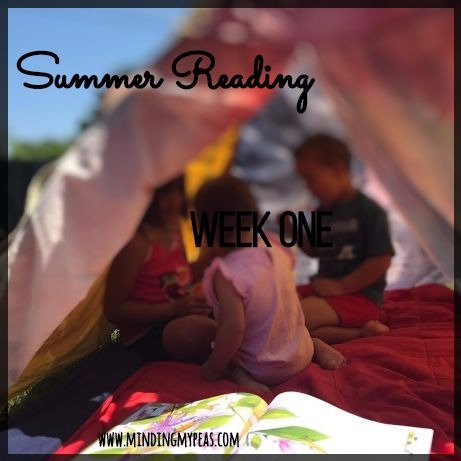 summer reading minding my peas