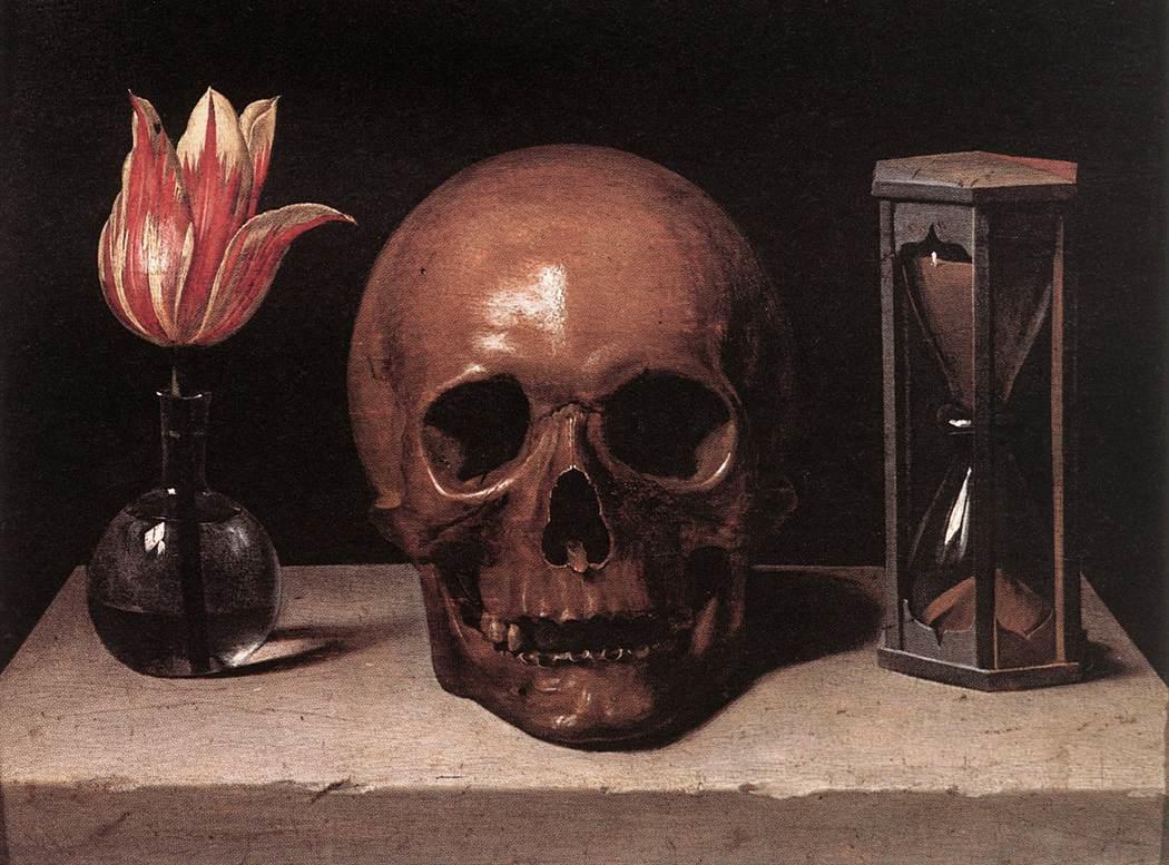 Филипп де Шампань – Натюрморт с черепом